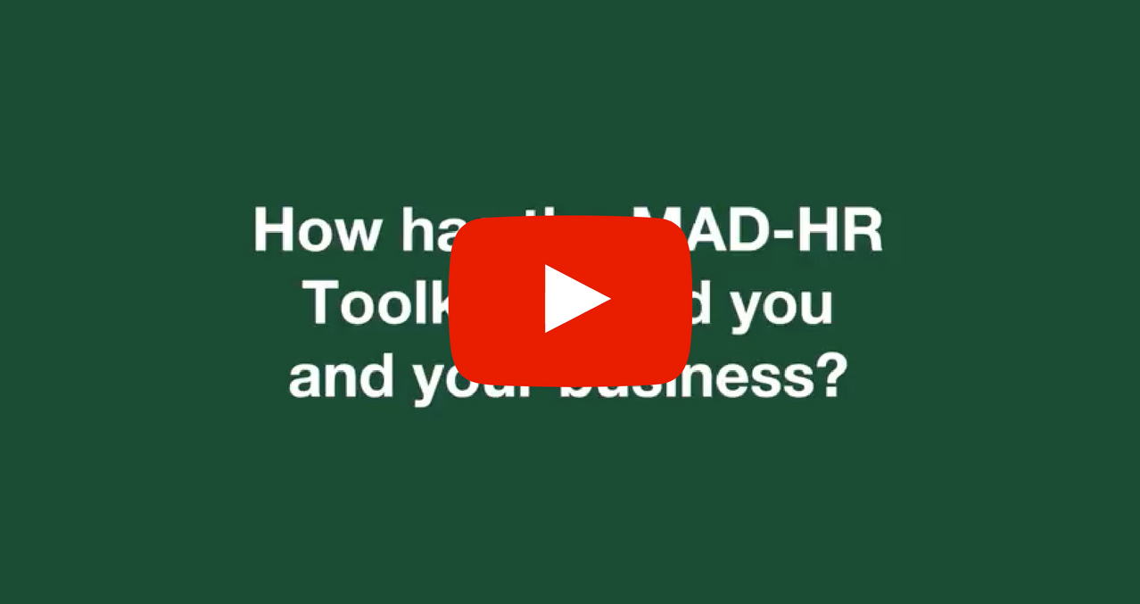 Is the MAD-HR Toolkit right for your business?