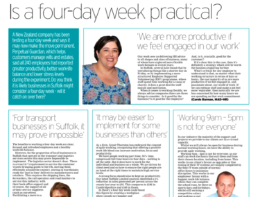 Four-day working week. Is it practical?