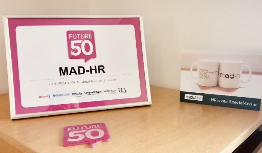 Awarded Future50 status