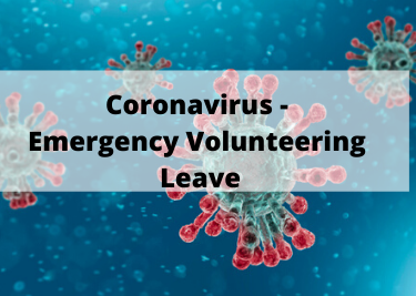 Coronavirus Emergency Volunteering Leave