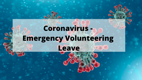 Coronavirus - Emergency Volunteering Leave