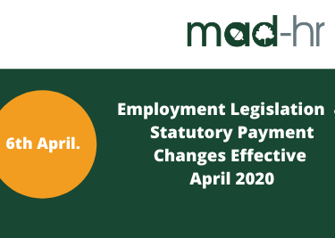 Employment Legislation Changes April 2020