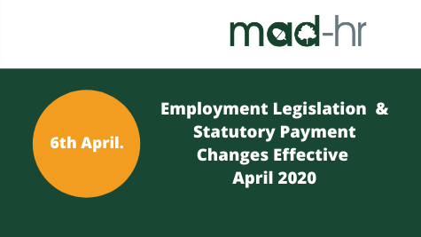 Employment Legislative Updates - April 2020