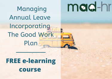 Managing Annual Leave e-Learning Course MAD-HR