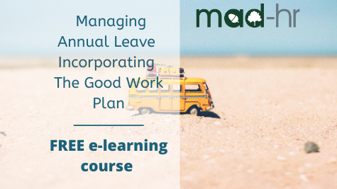 FREE email course on Managing Annual Leave