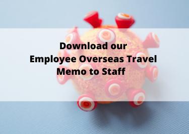 Employee Overseas travel