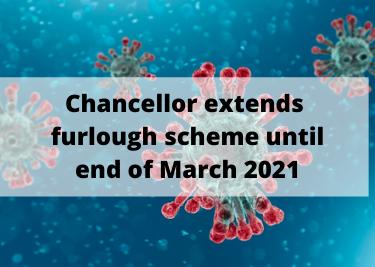 Chancellor extends furlough scheme until end of March 2021