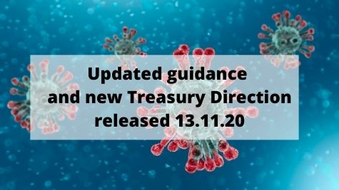 CJRS – Updated guidance and new Treasury Direction as at 13.11.20