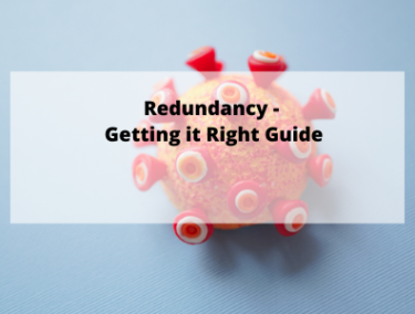 Redundancy Getting it right guide