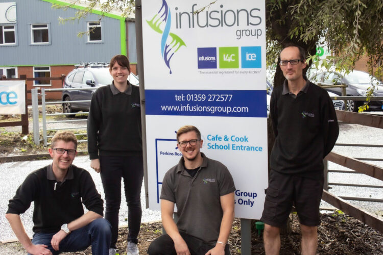 Infusions Group team photo