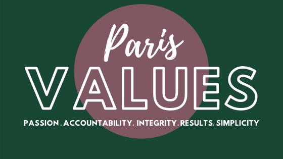 MAD-HR PARIS Values