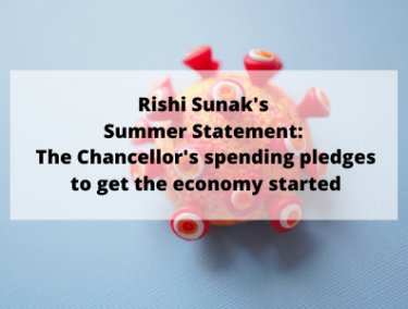 Rishi Sunak Summer Statement: All the Chancellor's spending pledges