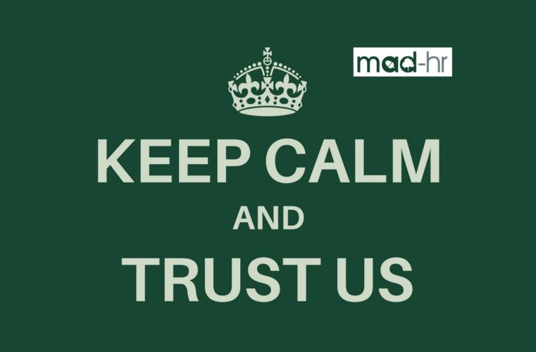 MAD-HR keep calm graphic