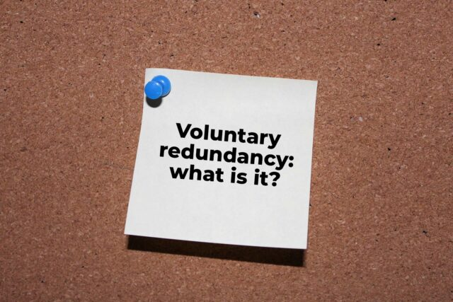 Voluntary redundancy - what is it?